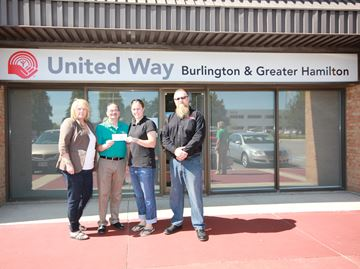 CUPE Local 44 donates $10,000 to the Burlington Flood Relief Fund
